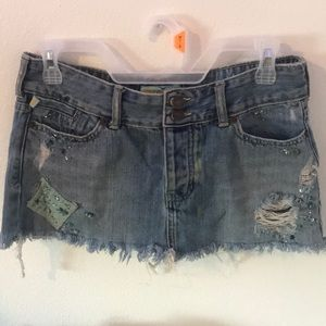 Hollister Jean Mini skirt